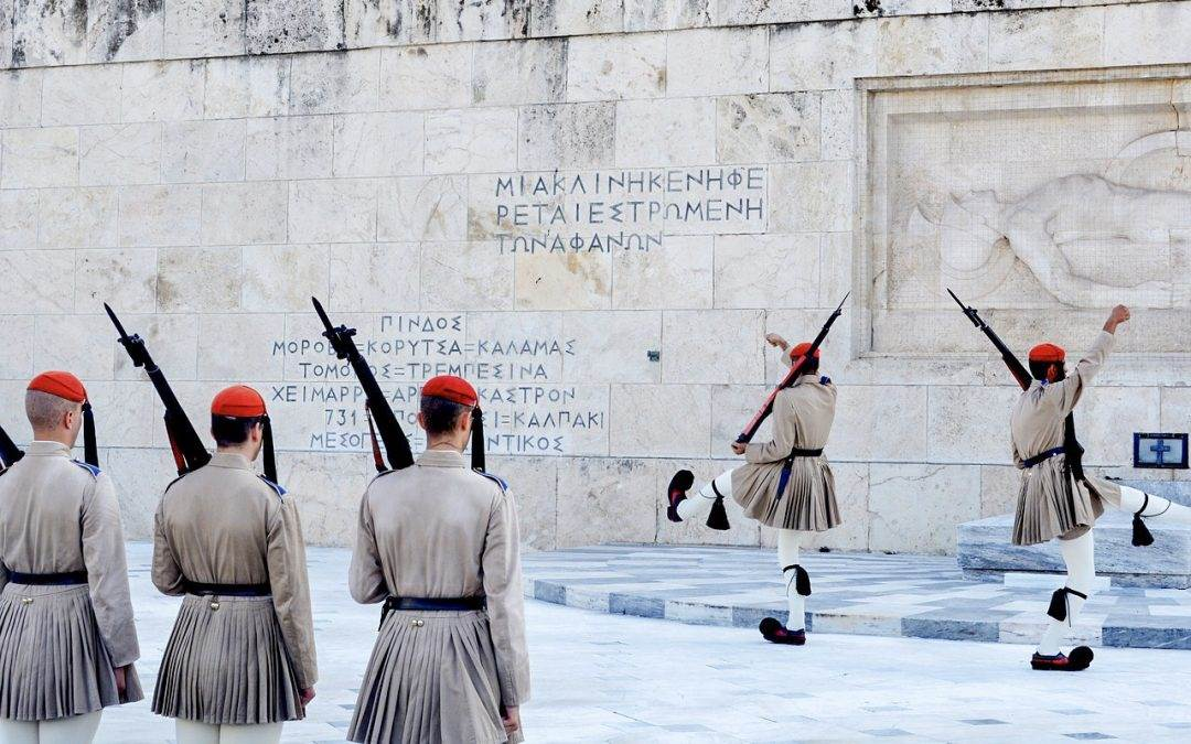 THE ELITE GREEK PRESIDENTIAL GUARD – THE REMARKABLE EVZONES!