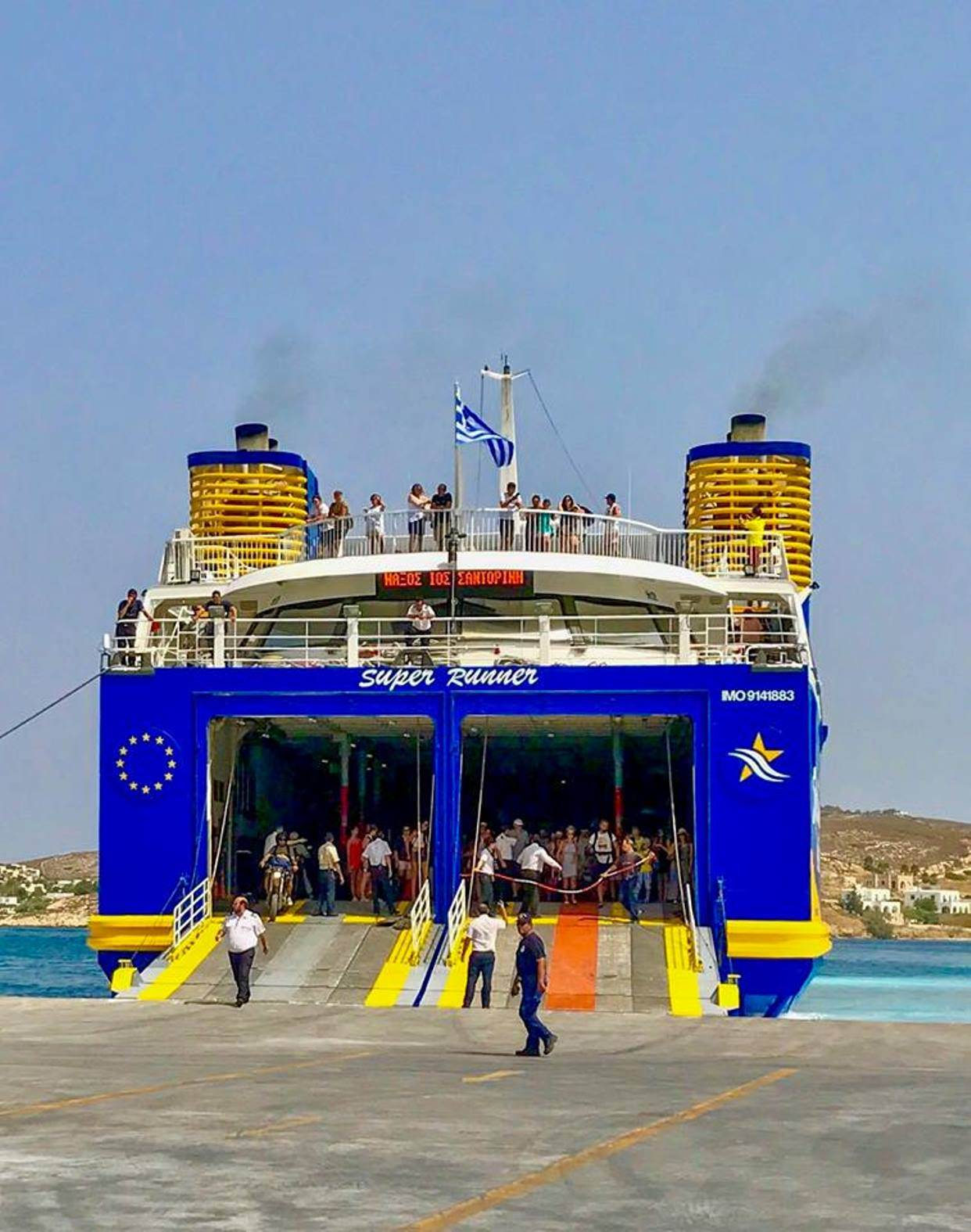 ferry in greece