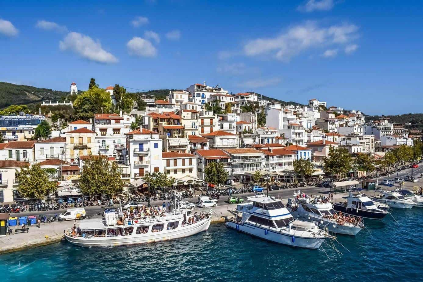 best greek islands for groups