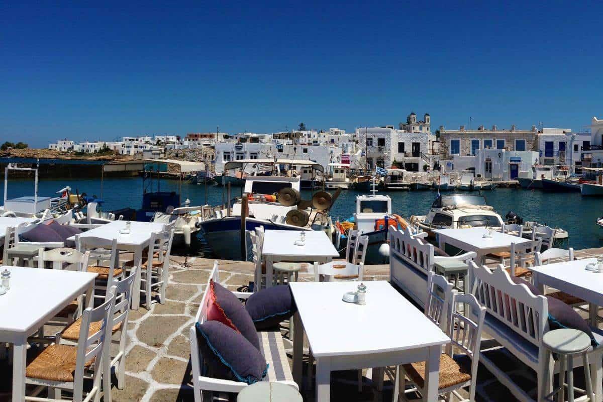 waterfront taverna paros