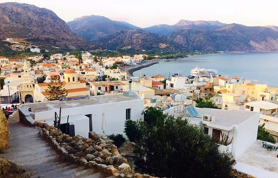town in southern crete