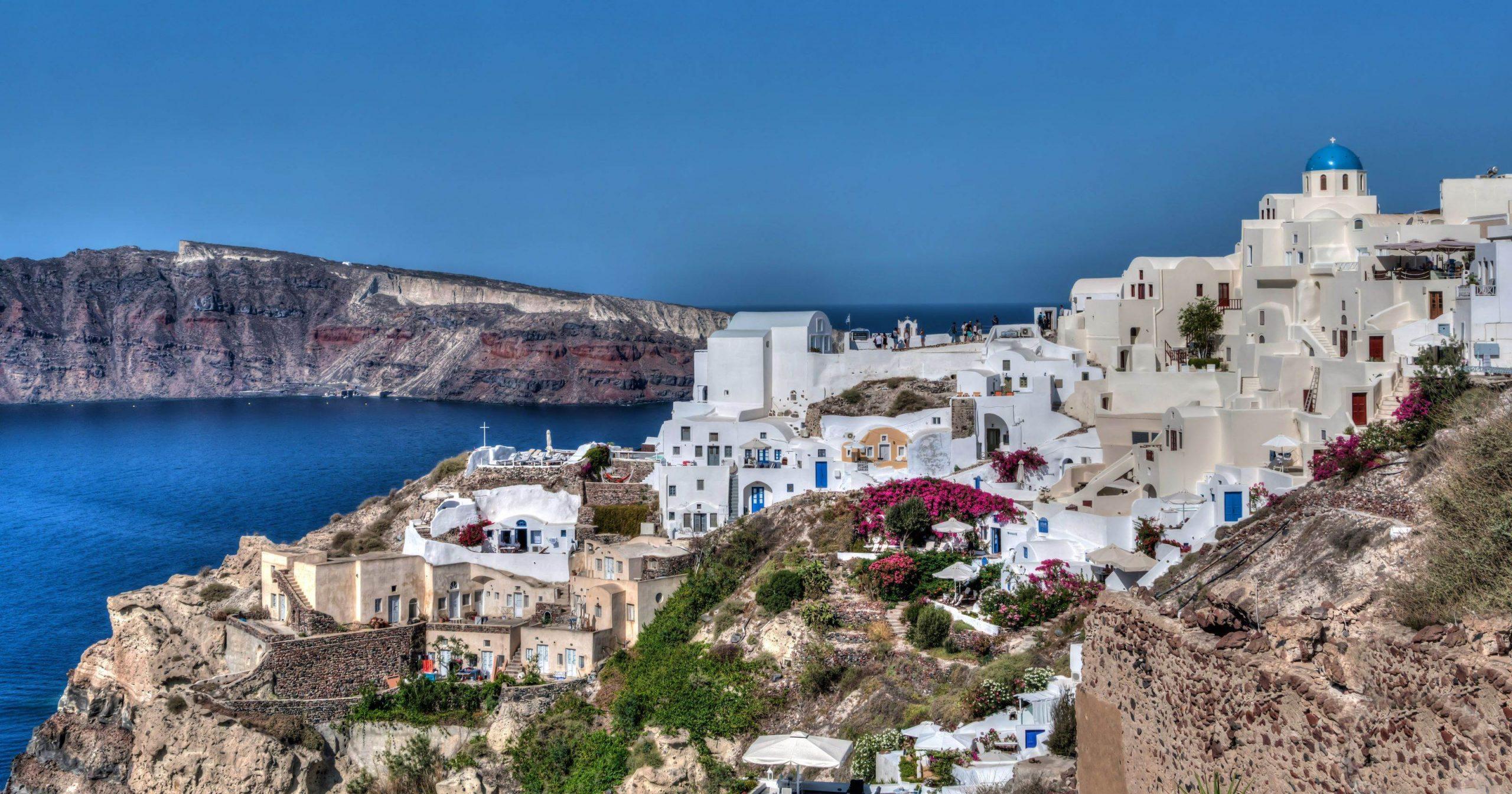 greece caldera
