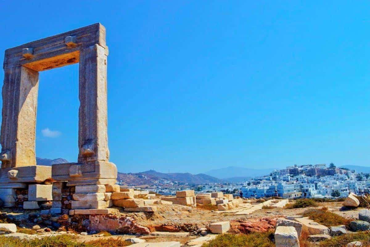 naxos ruin