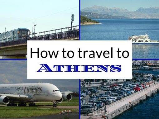 how to get to athens
