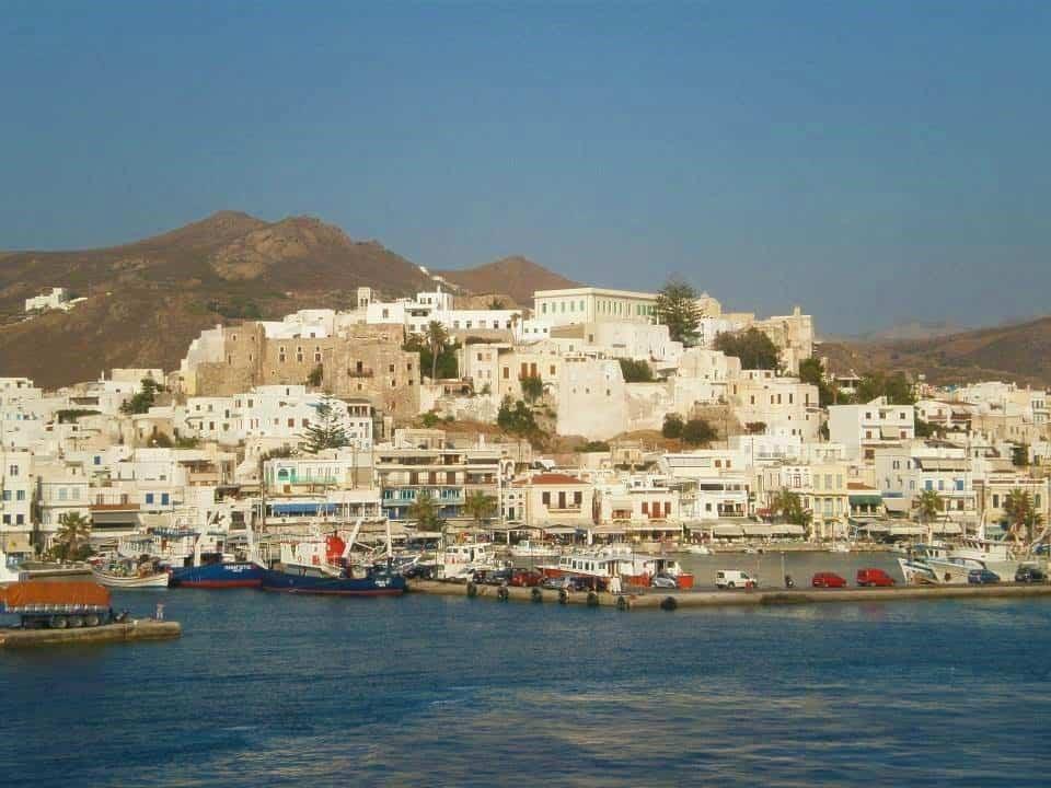 village on Naxos