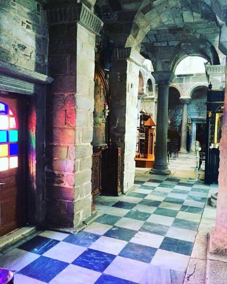 byzantine church greece