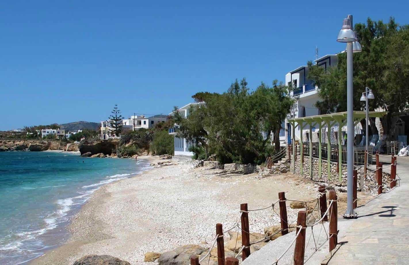 beachfront taverna paros