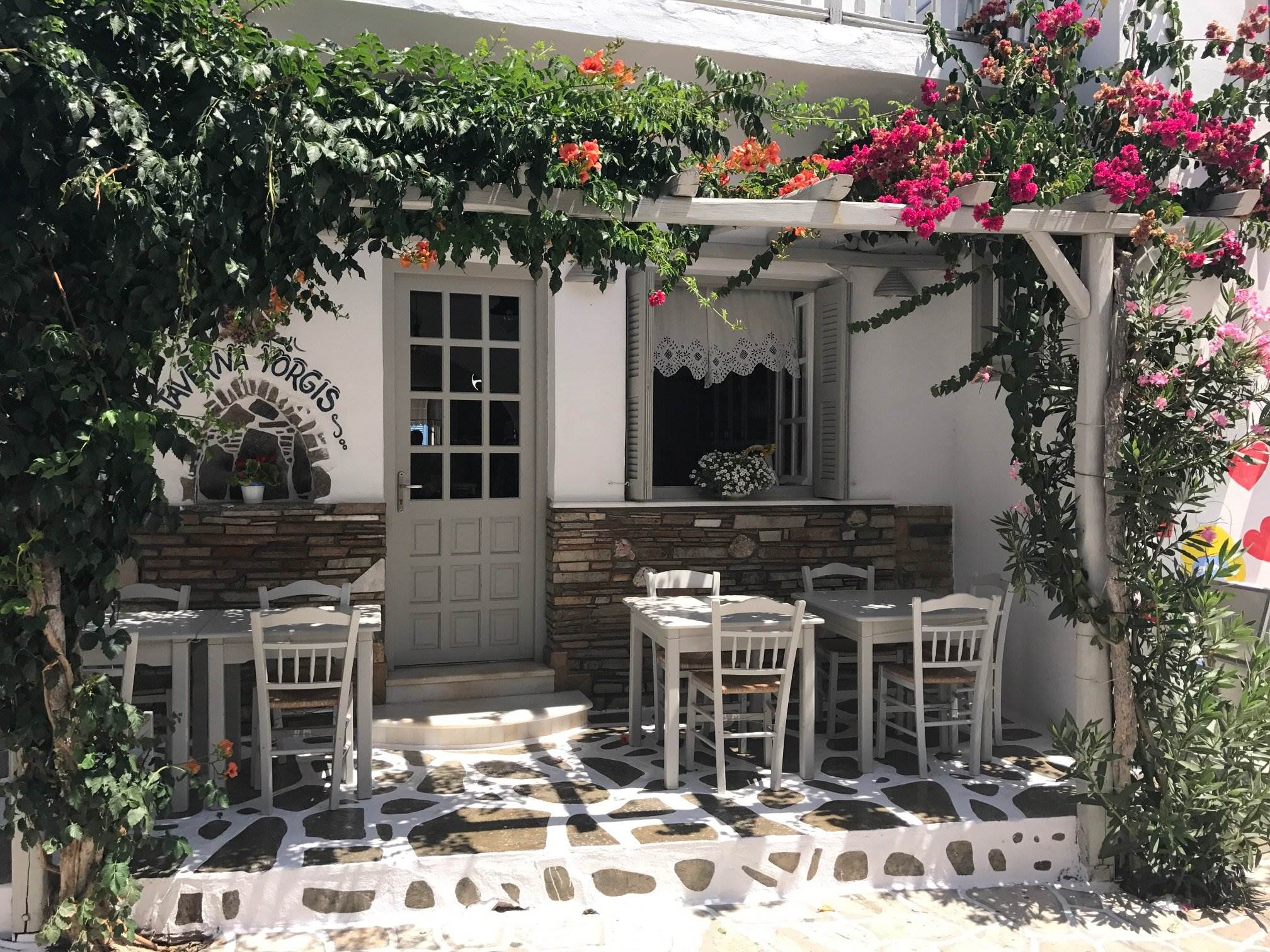greek island trellis