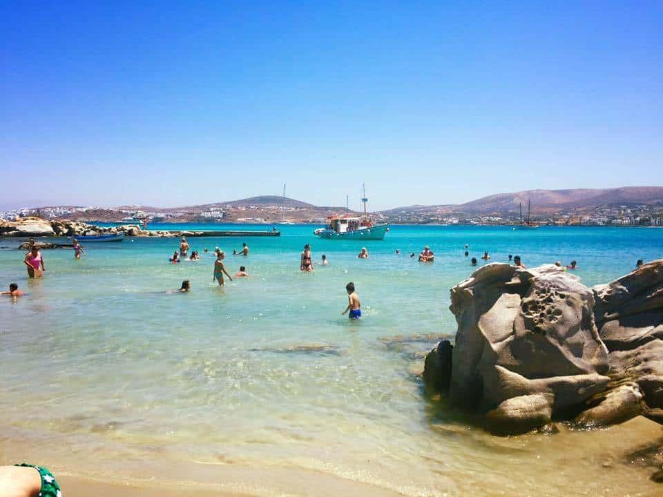 naoussa beach paros