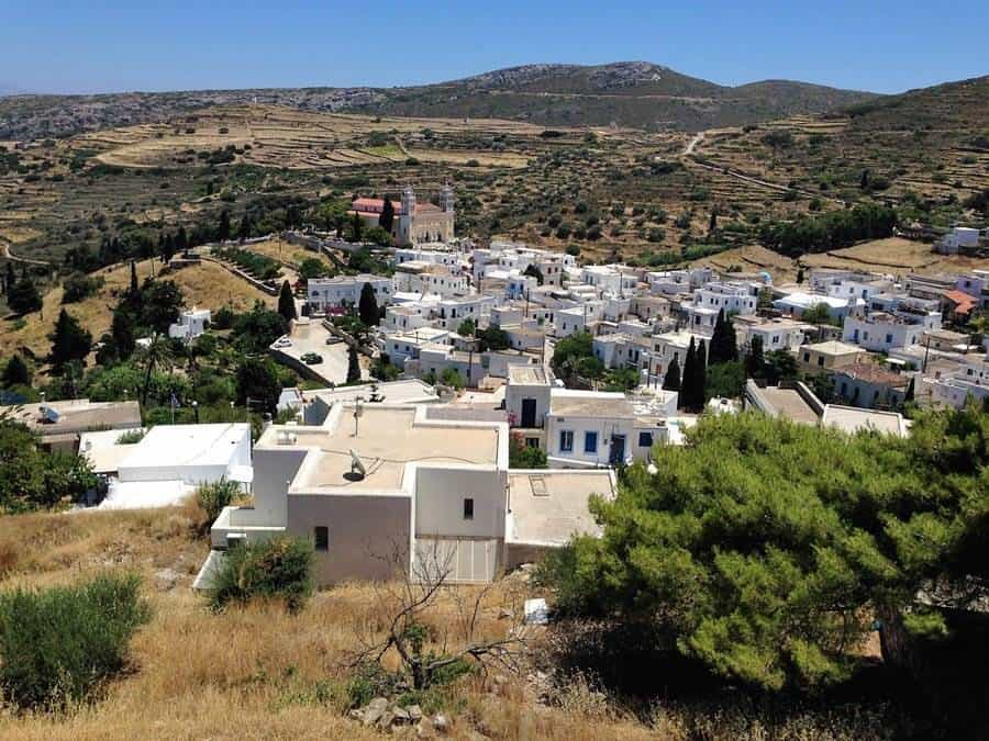 Paros traditional village