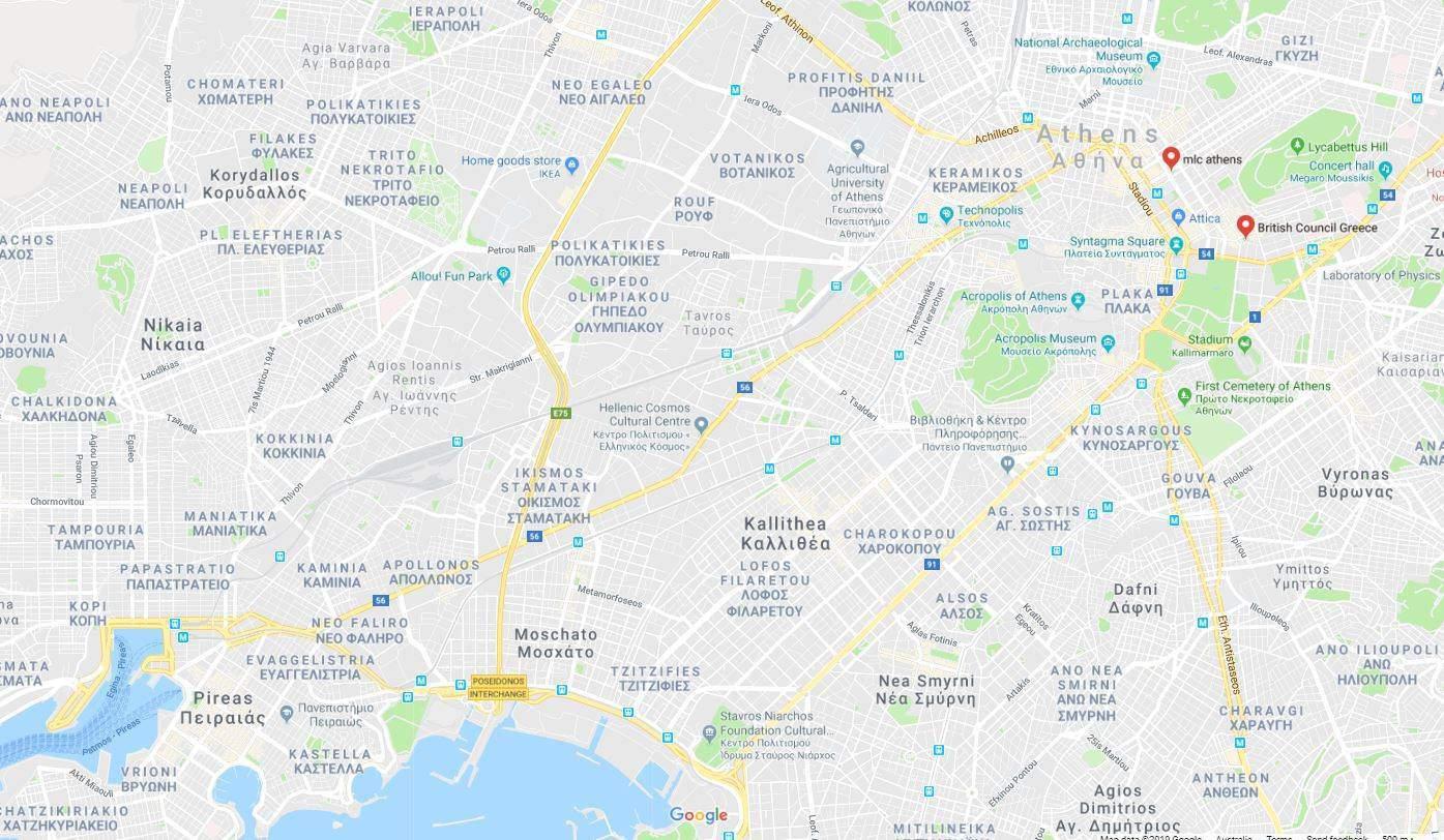 athina map