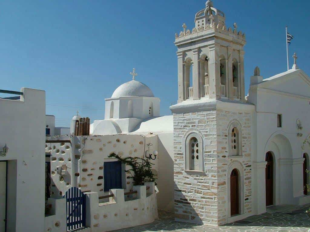 greek church paros
