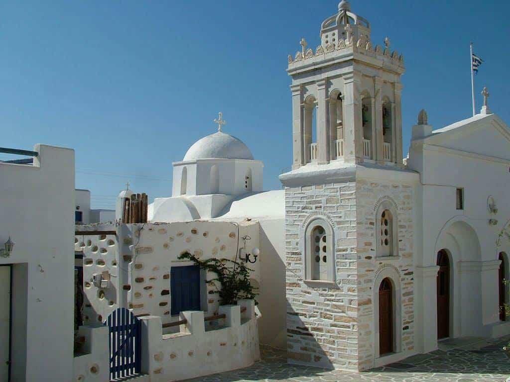 greek church paros