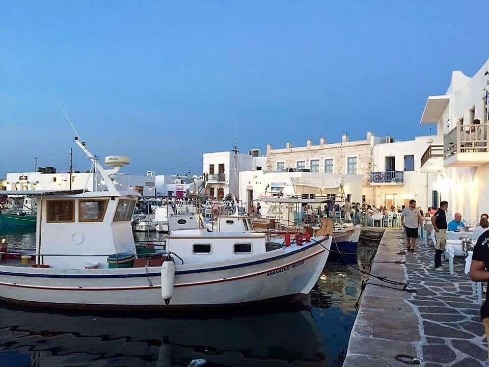 greece fishing village