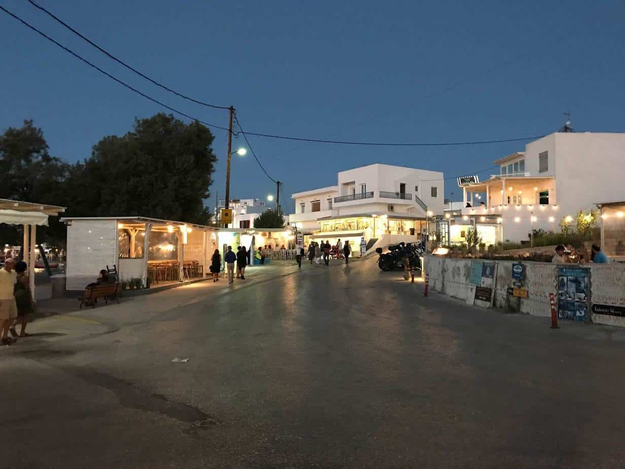 where to stay on Milos
