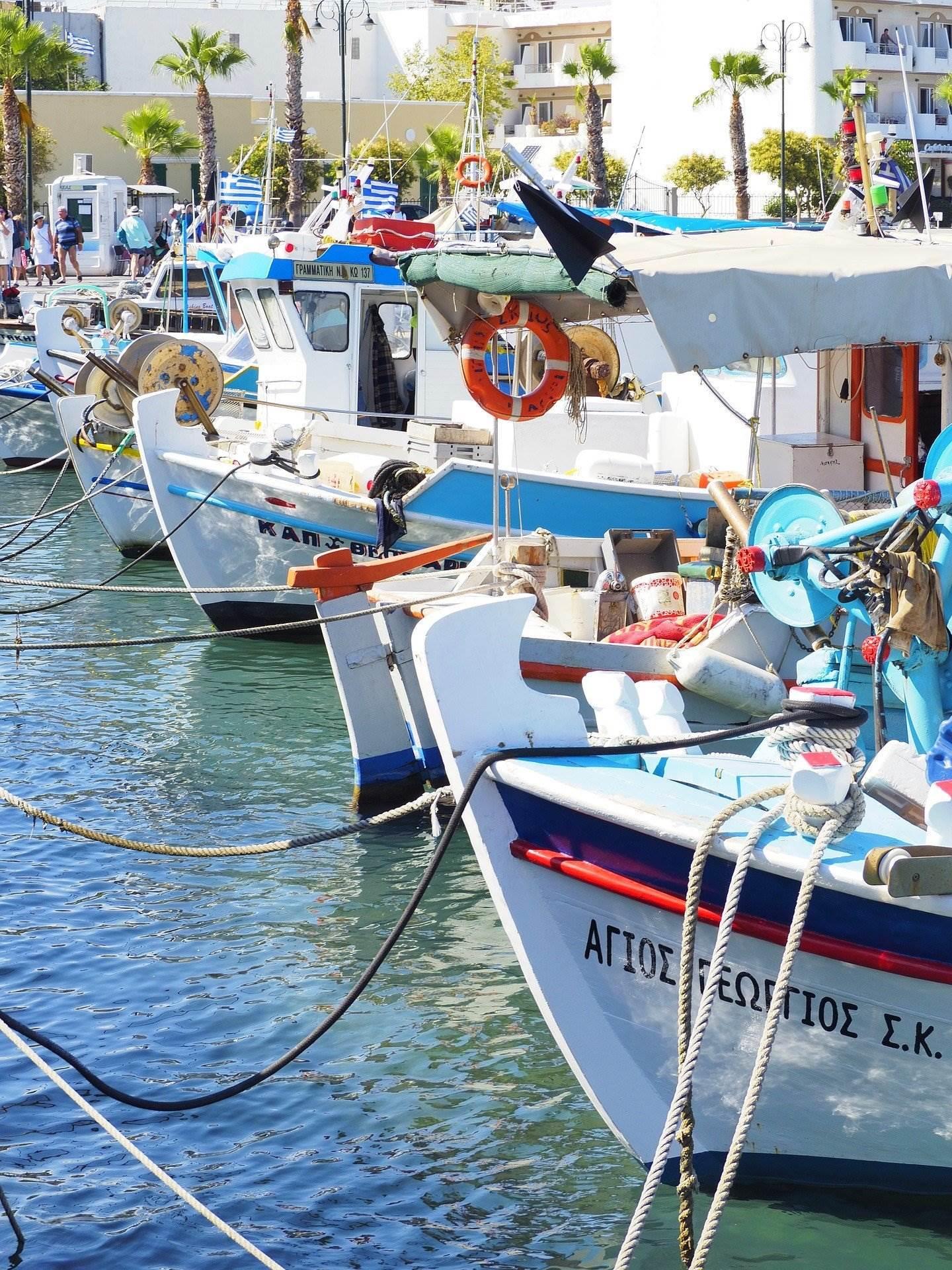Symi boats