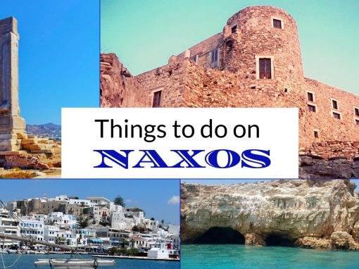 Naxos island activities