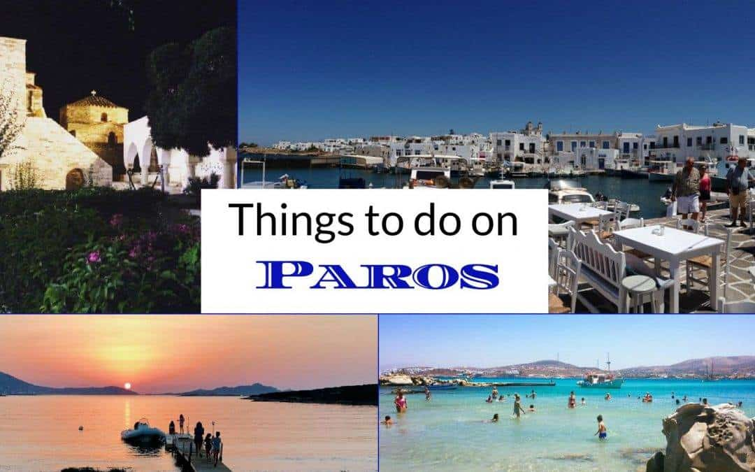 Things to do on Paros
