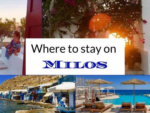 milos accommodation