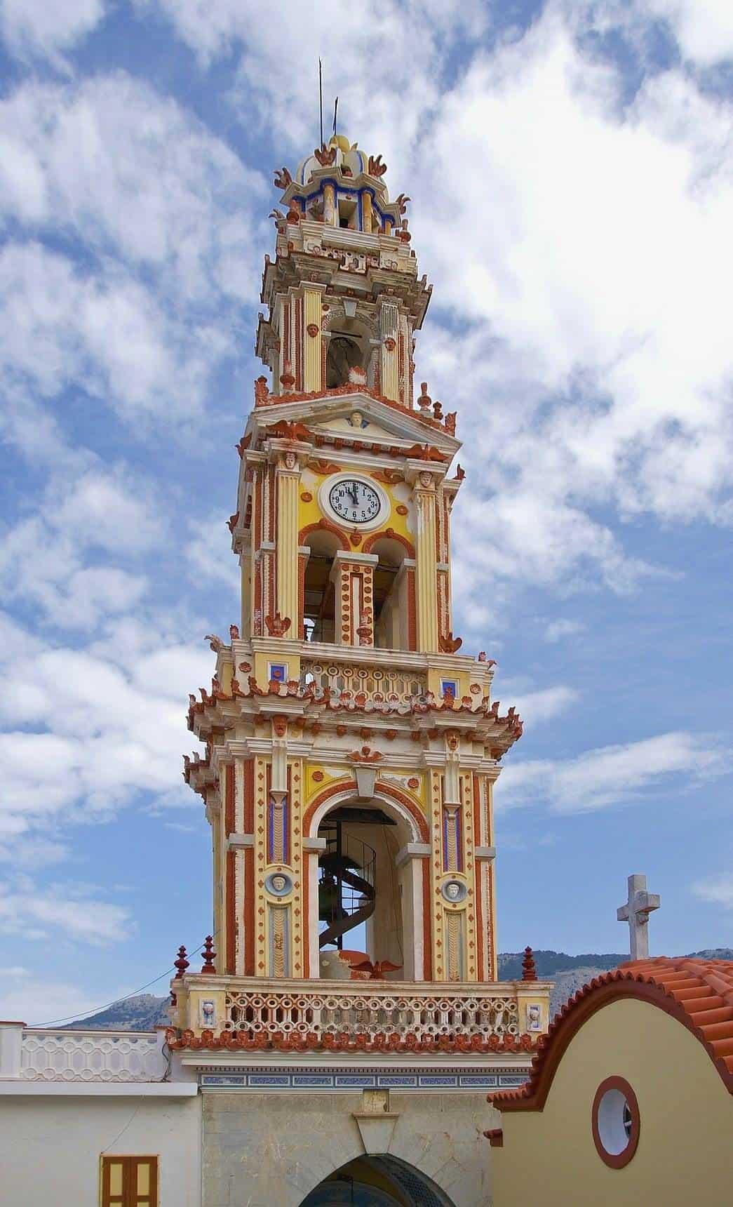 clock tower symi