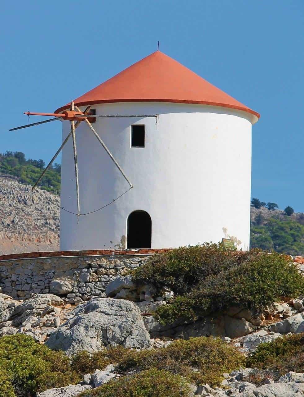 symi windmill