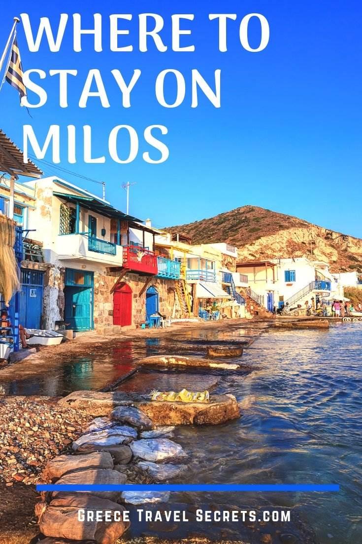 milos hotels greece