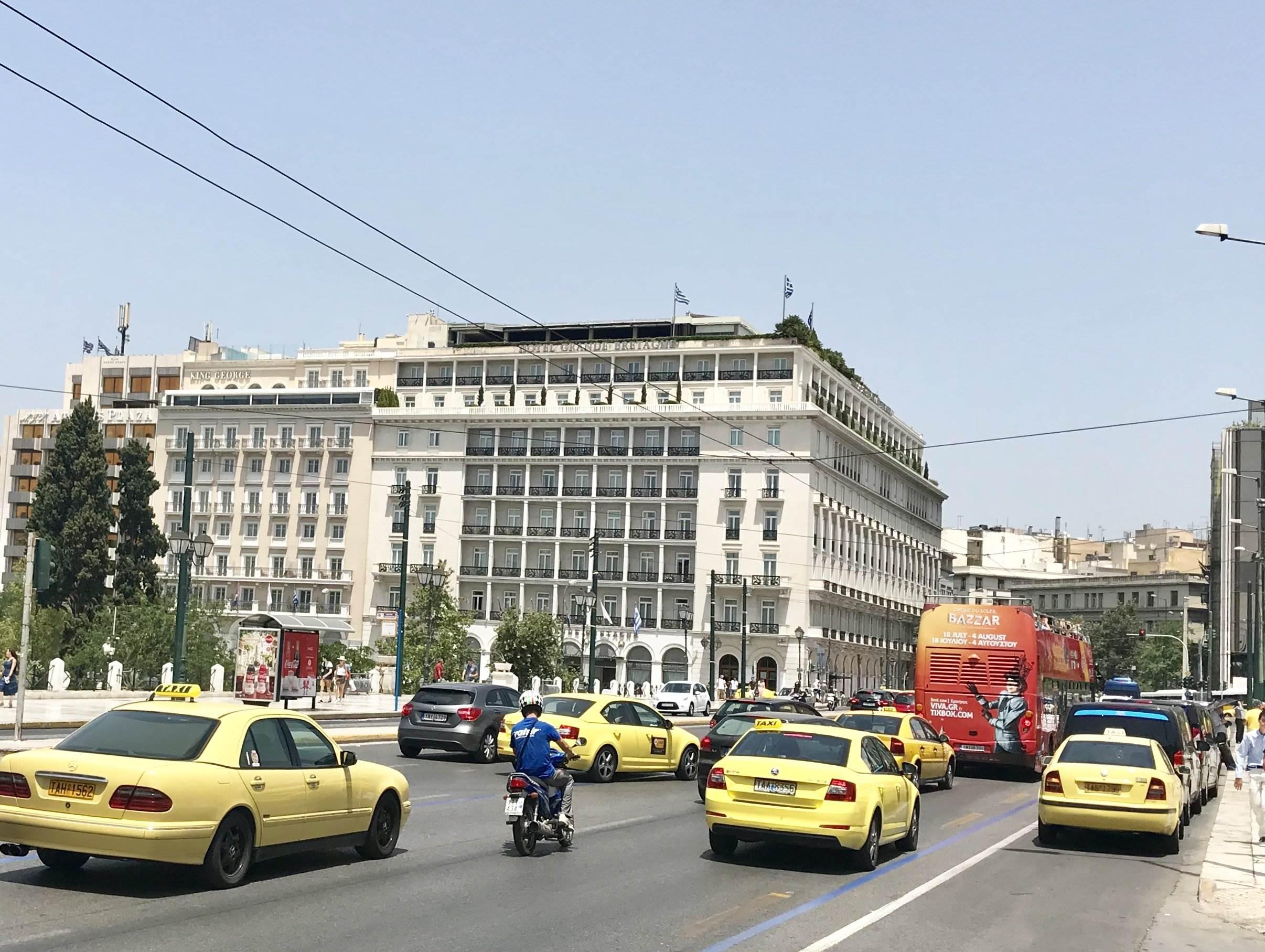 luxury hotel athens