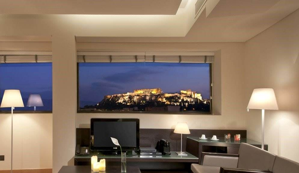 hotel with acropolis view athens