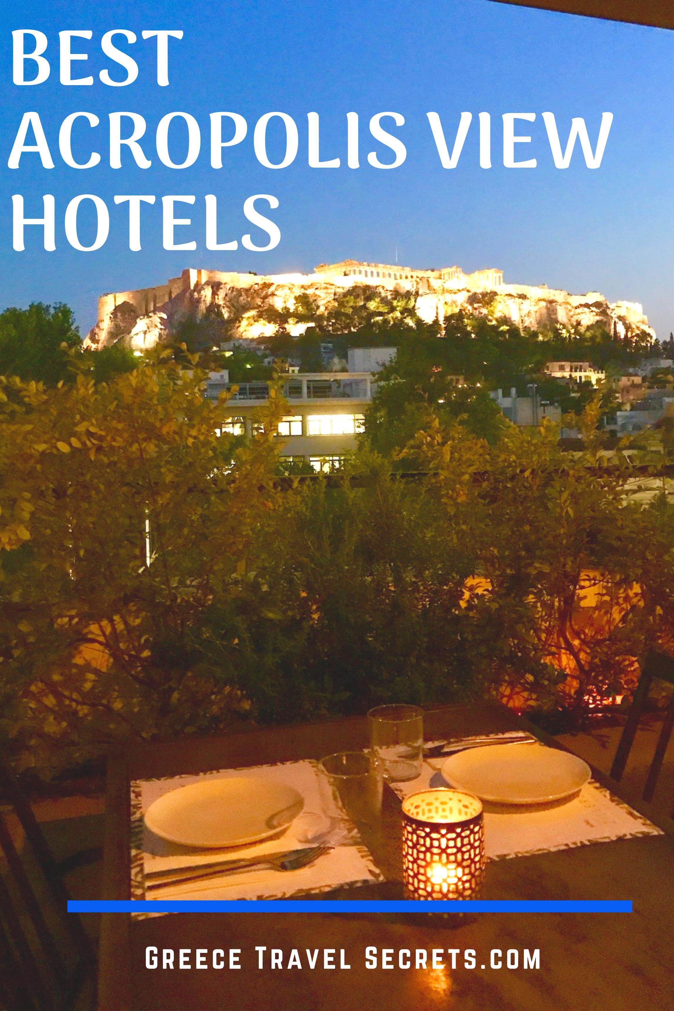 best hotels in athens with view of acropolis
