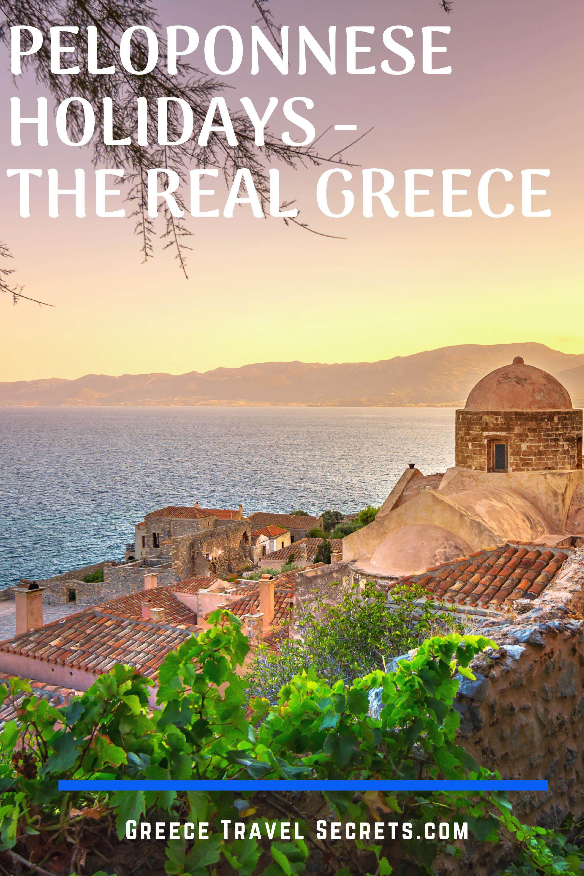 Peloponnese vacation
