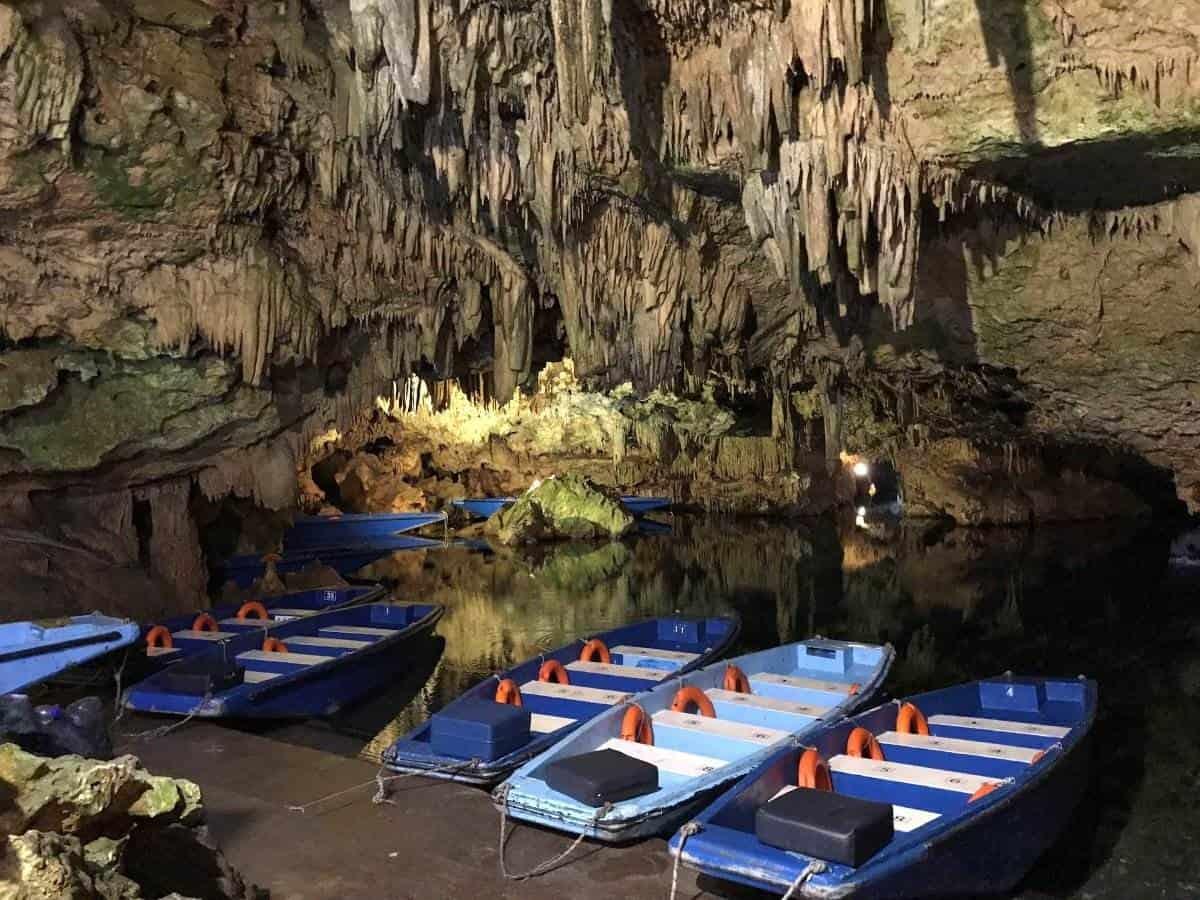 Peloponnese caves