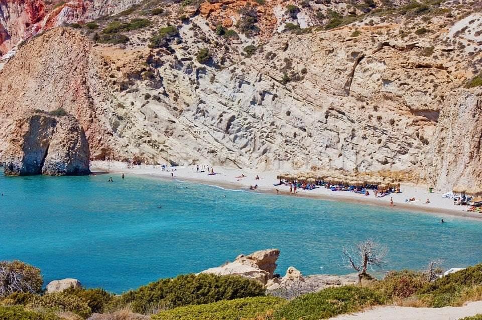 best beach Milos
