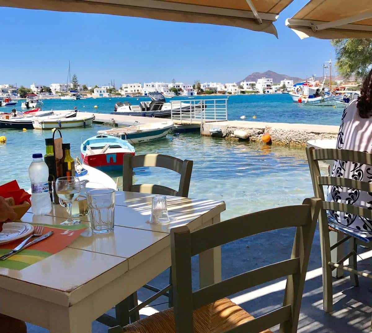 best restaurants Milos