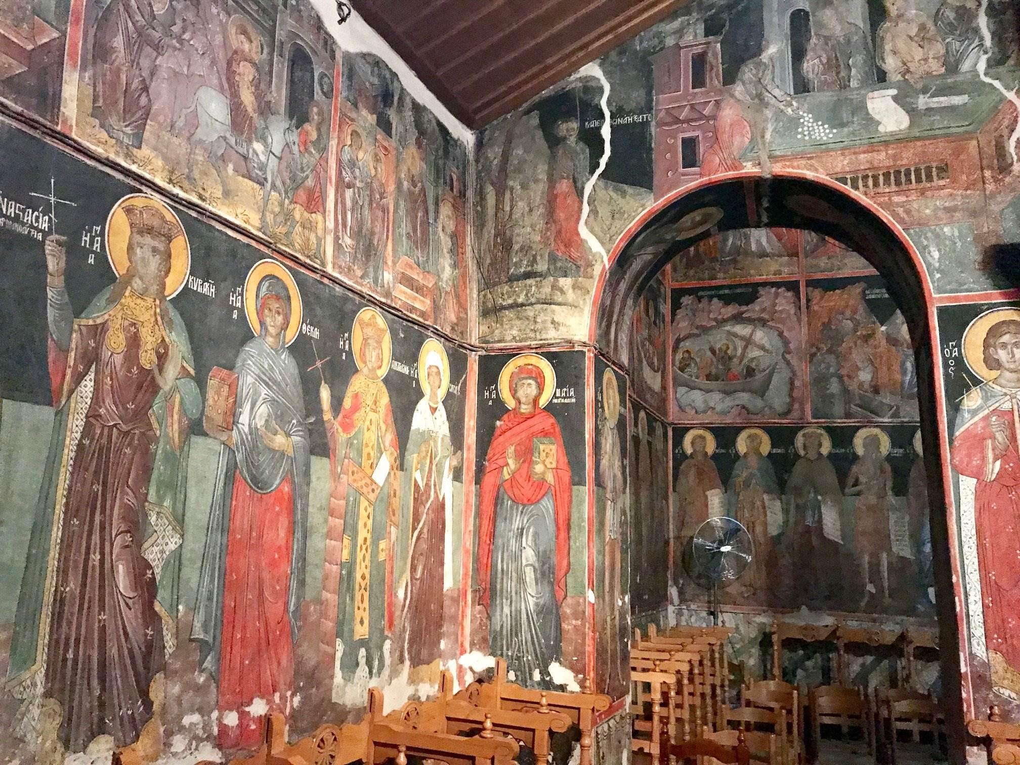 byzantine church kalambaka