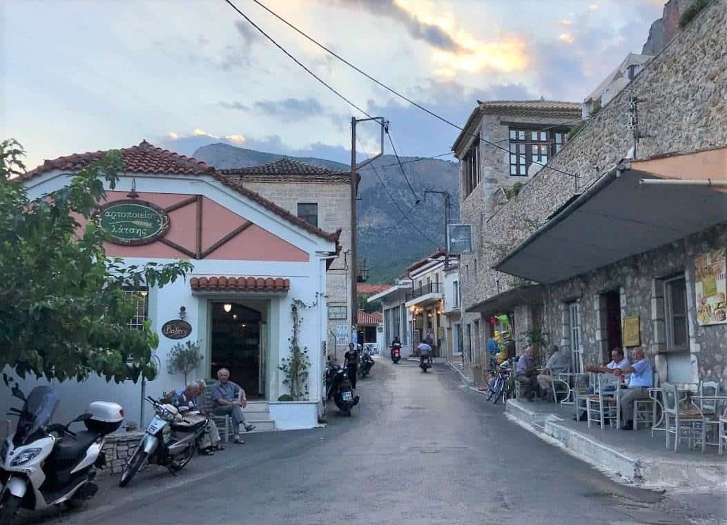 peloponnese town