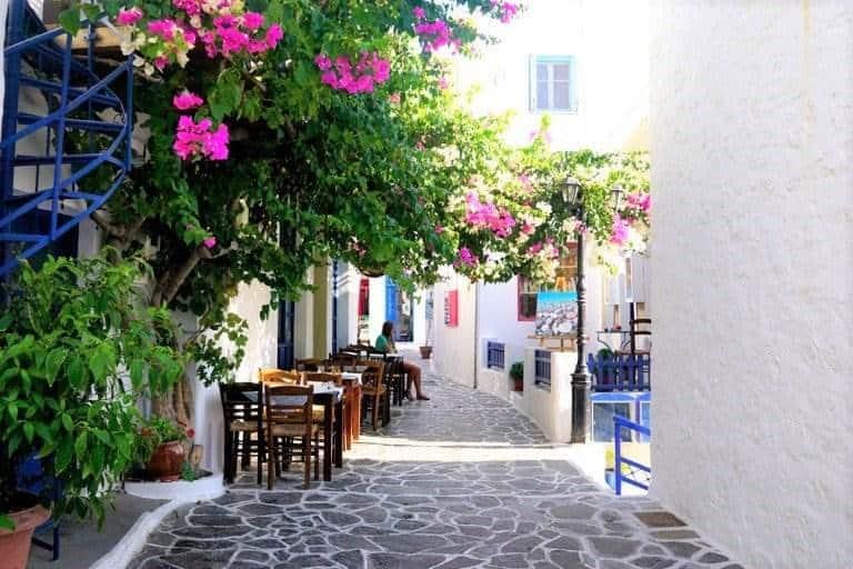 old town milos