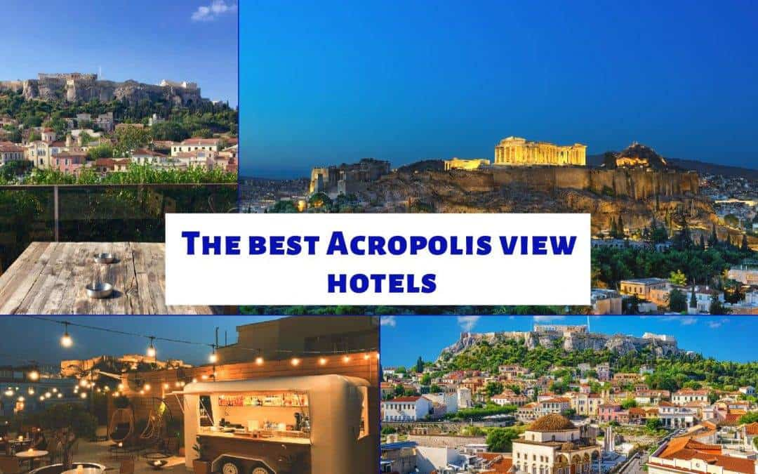 The best Acropolis view hotels in Athens