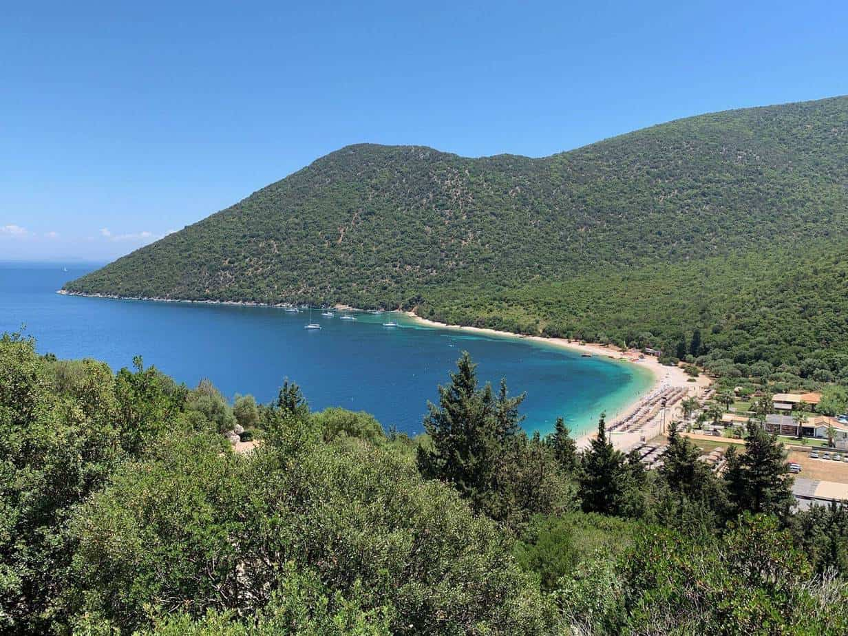 best beaches kefalonia