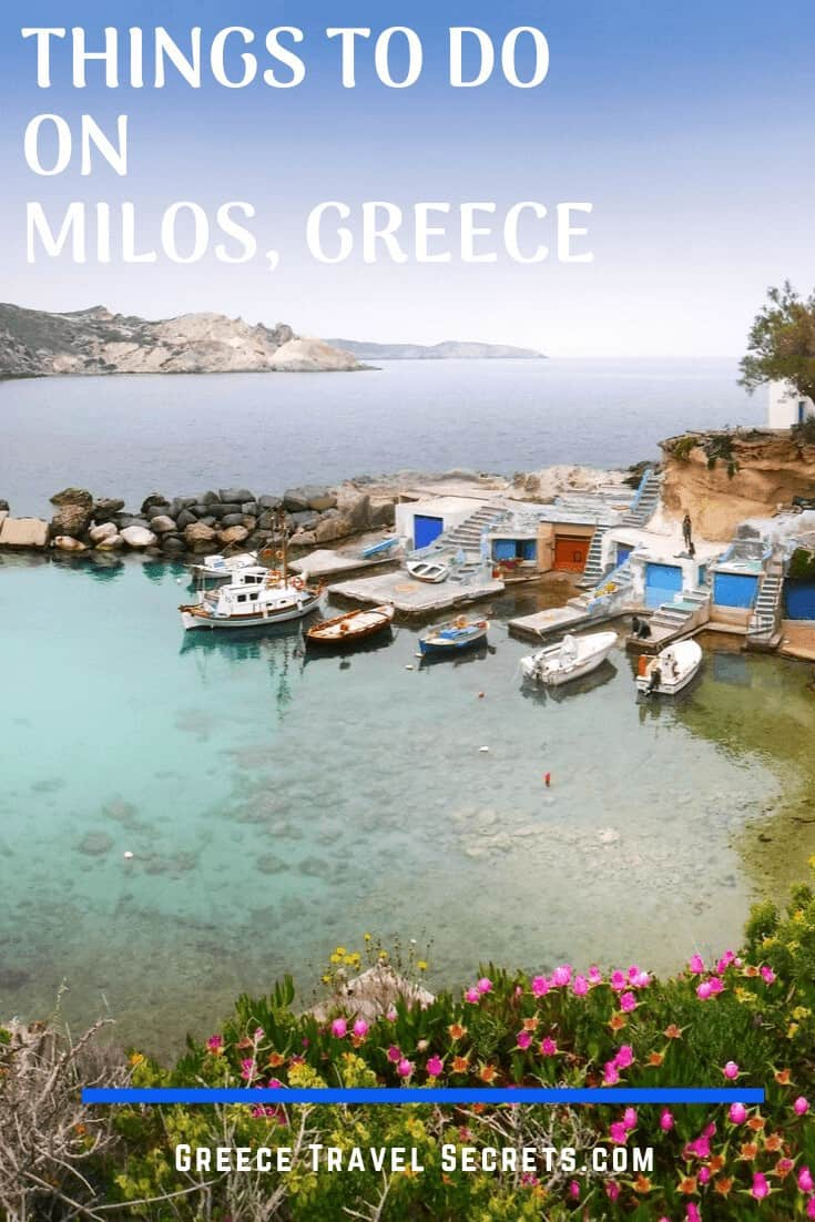 fishermans huts milos