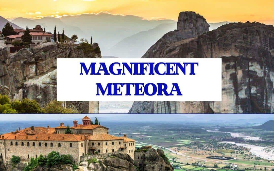 How to visit Meteora monasteries and surrounds