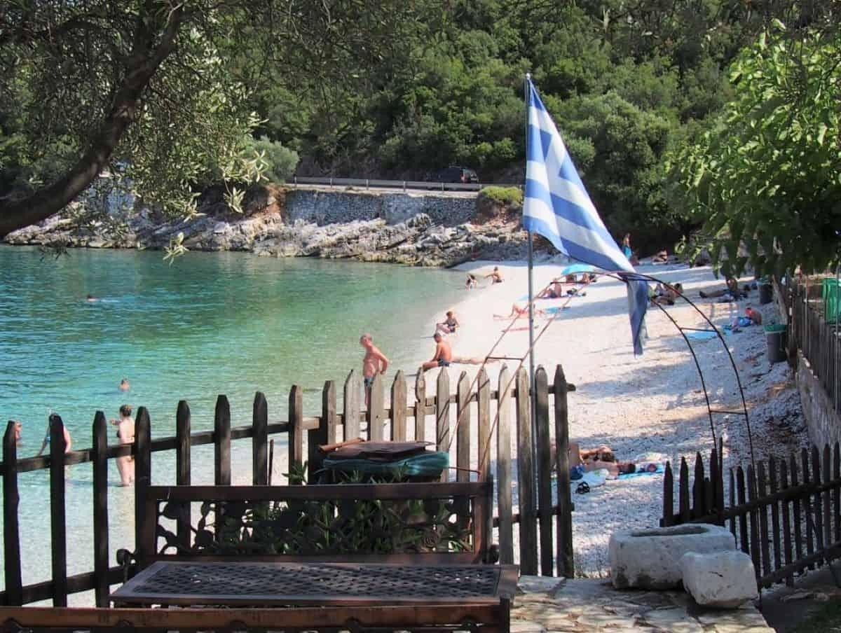 Agia Paraskevi Beach Kefalonia