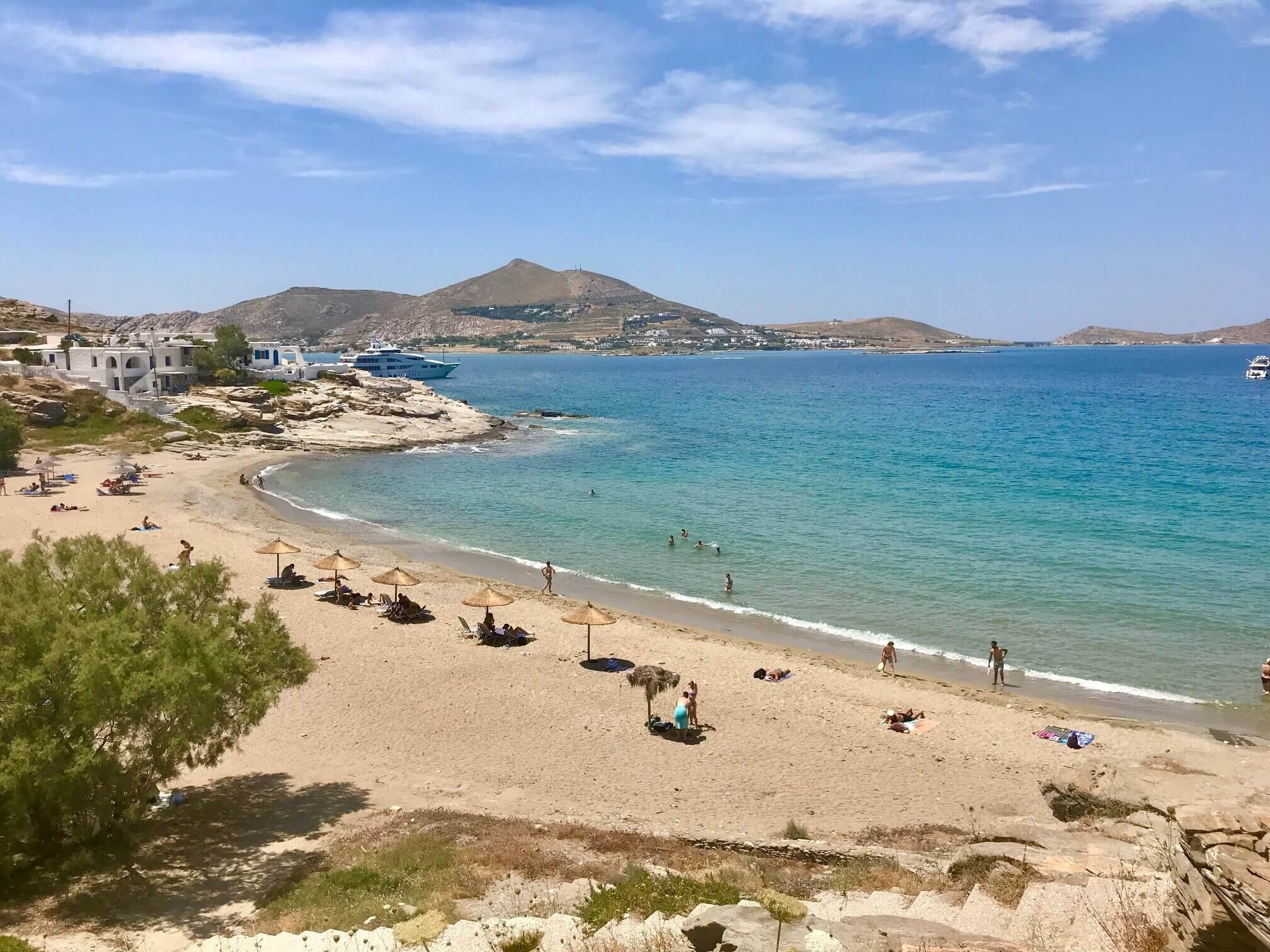 best greek island for families