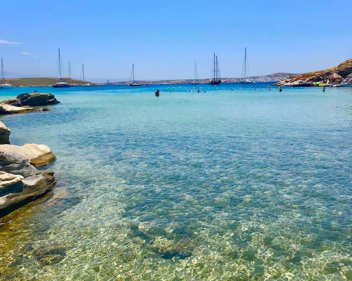naoussa beach