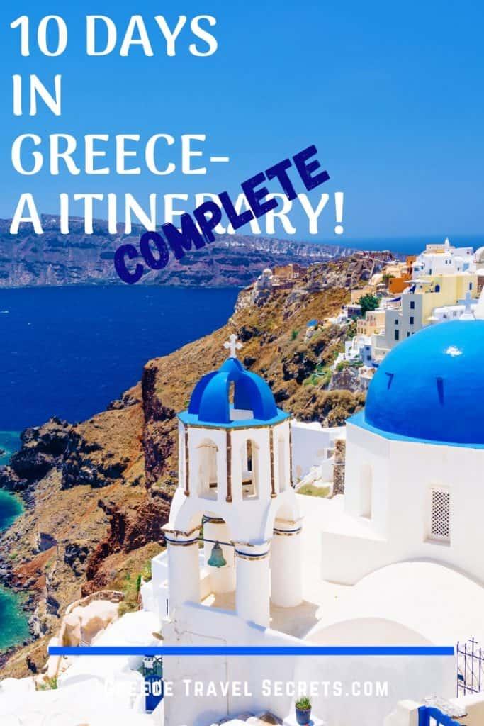 greece 10 day itinerary