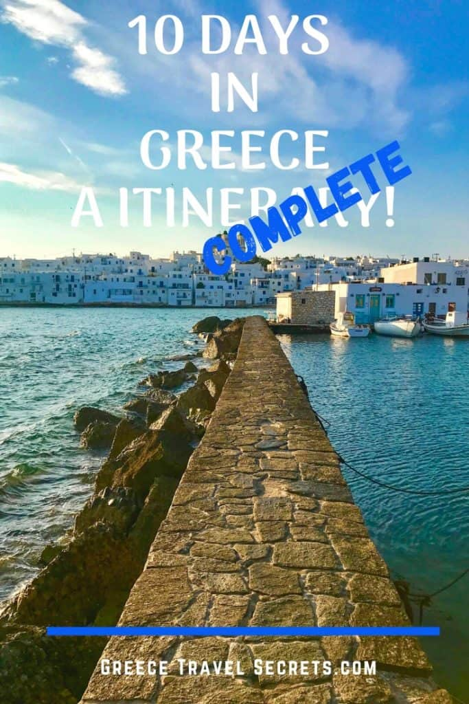 greece 10 day itinerary