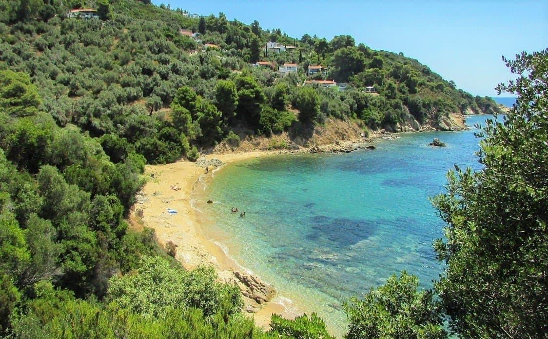 skaithos beach