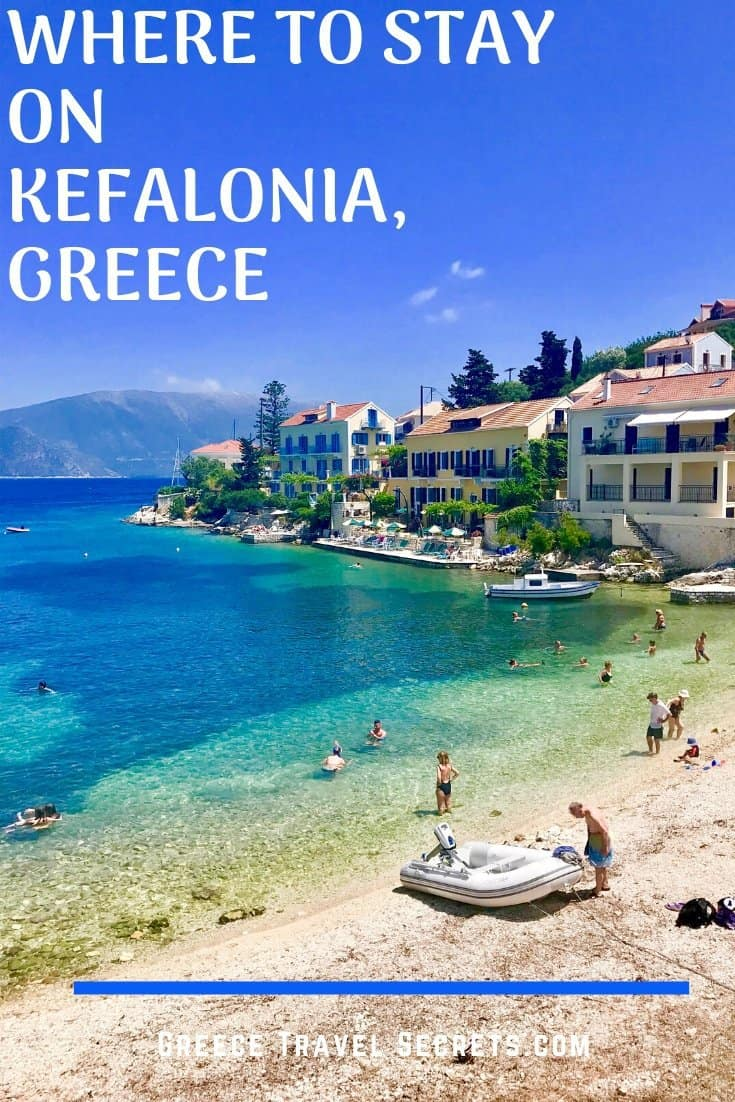 where to stay Kefalonia