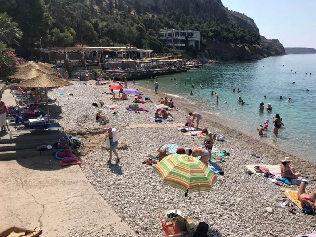 nafplion beach