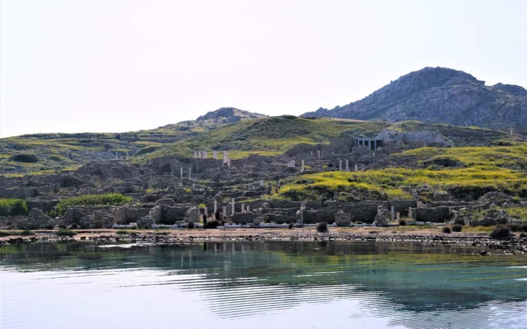 Delos Island, Greece – the birthplace of Apollo
