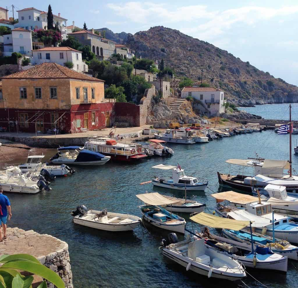 holiday in hydra